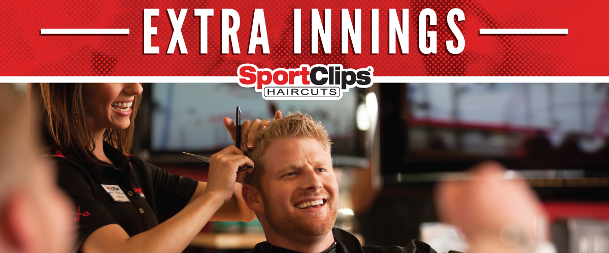 The Sport Clips Haircuts of Homer Glen Extra Innings Offerings