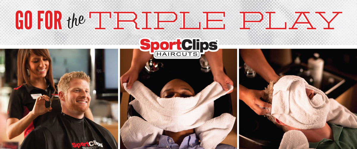 The Sport Clips Haircuts of Homer Glen Triple Play